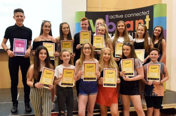 East Ayrshire youngsters celebrate their sporting achievements