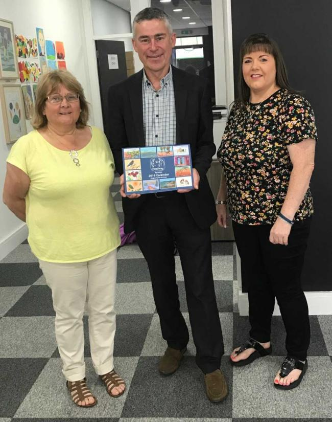 MP Alan Brown met Headway charity representatives.