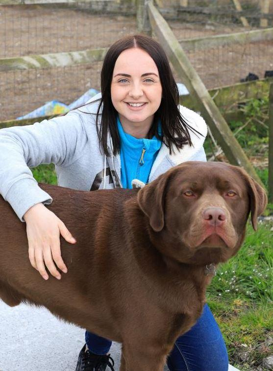 Pregnant nursery teacher determined to cycle miles for Cumnock shelter dogs