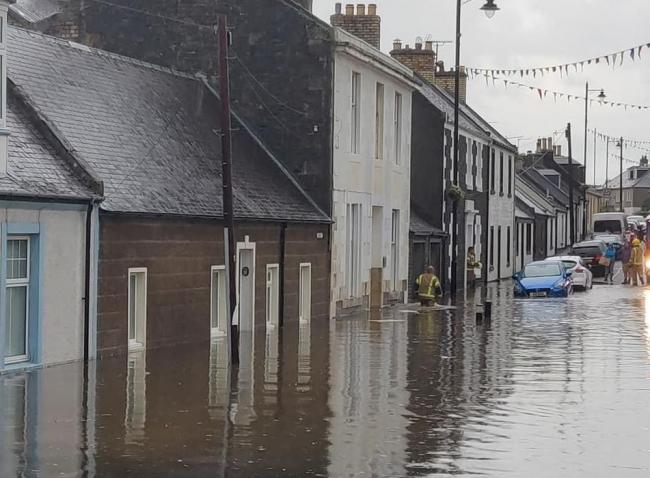 Cumnock and Doon Valley warned to prepare for flooding