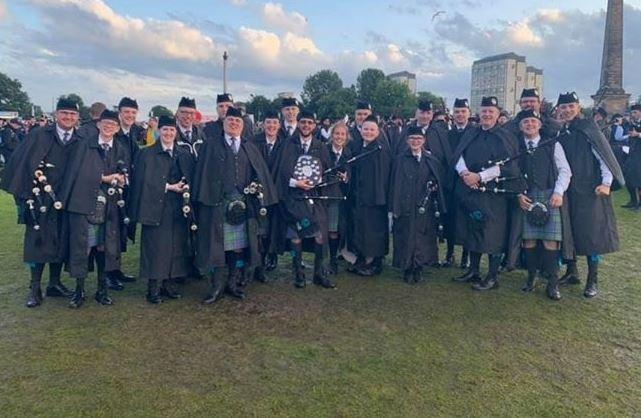 East Ayrshire bagpipers become global champions