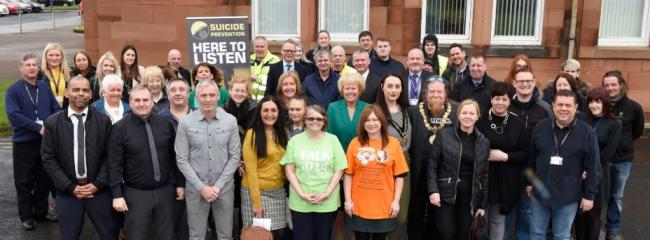 Mental health campaign launched after suicides figures doubled in East Ayrshire