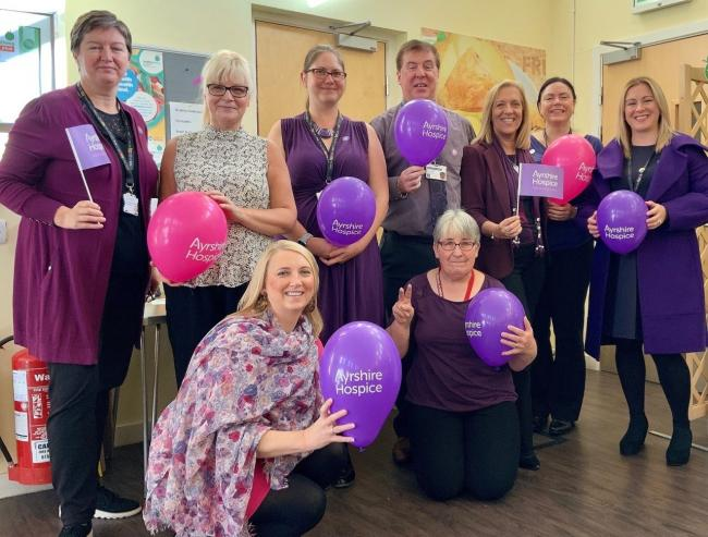 Go Purple for Ayrshire Hospice
