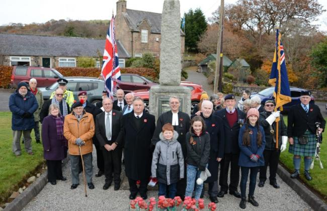 Community respect war dead at WW1 event