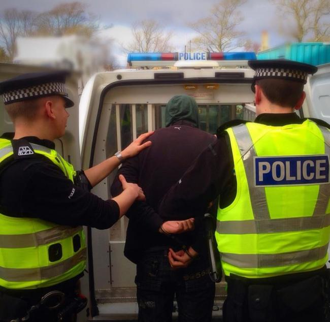 Police cracking down on young Cumnock vandals
