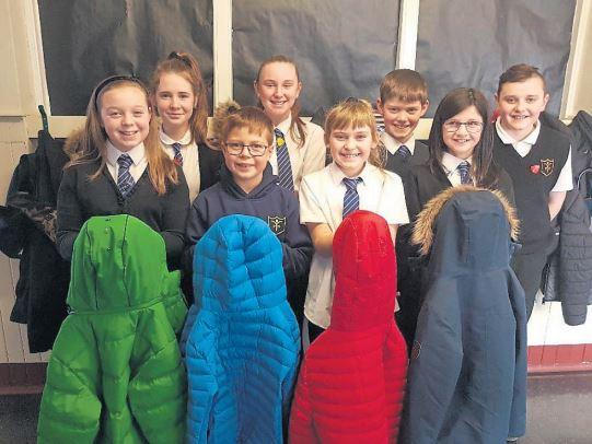 Kind youngsters keep community warm with latest project