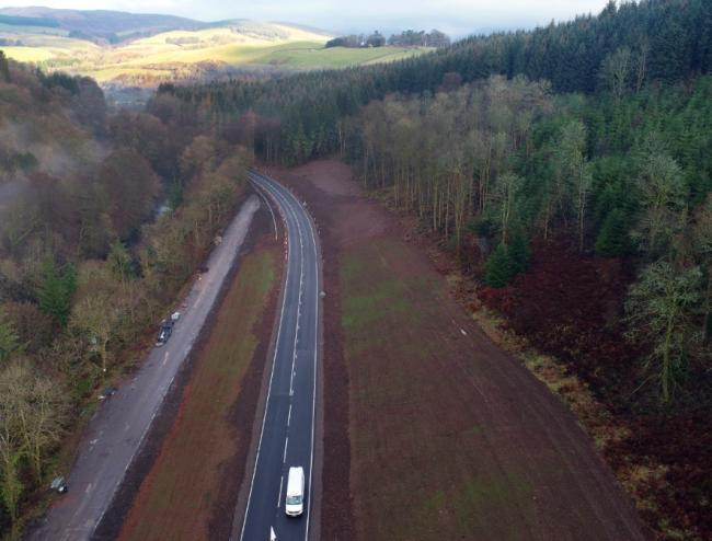 Drivers delight after new section of A76 finally opens