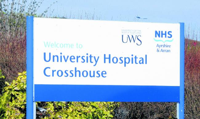 Crosshouse Hospital 'crisis' with staff left in tears over 'warzone' conditions