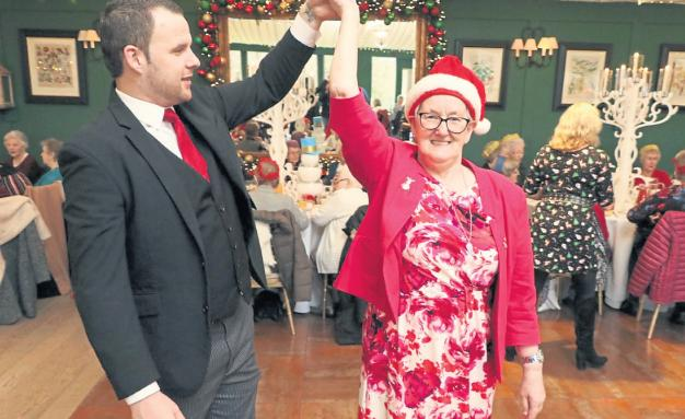 Festive tea dance in Cunnock is major hit