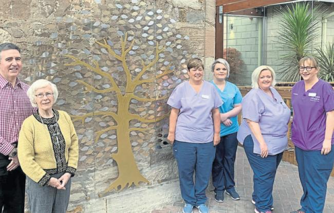 New memorial unveiled at Ayrshire Hospice for families to remember loved ones