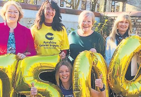 Charity provides vital support for people battling cancer across Ayrshire