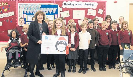 Primary pupils get special visit