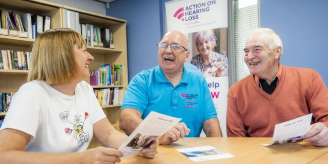 Volunteers needed to help Cumnock residents with hearing loss