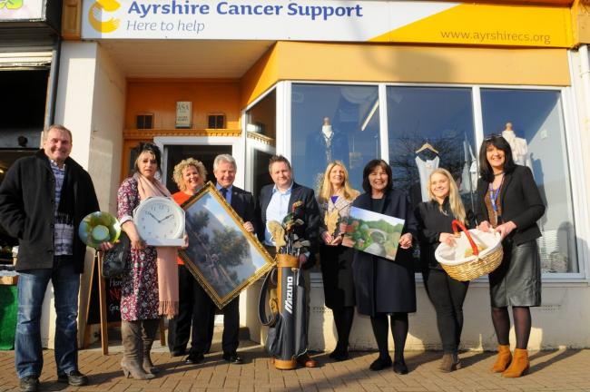 Ayrshire Cancer Support are looking for more volunteers in Cumnock.