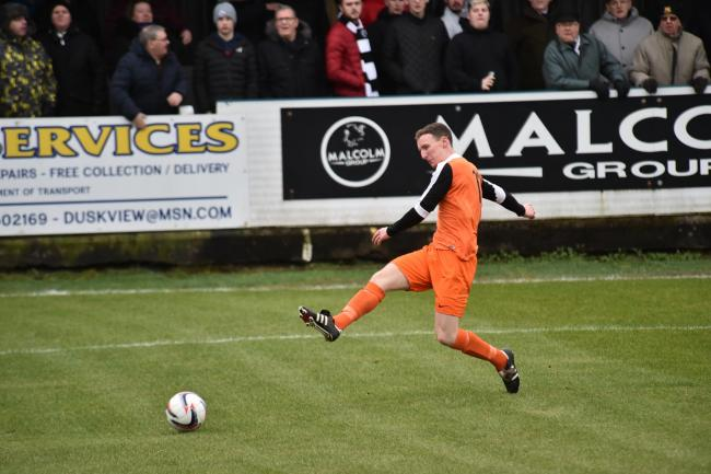 Kello battled bravely but lost out at Beith.
