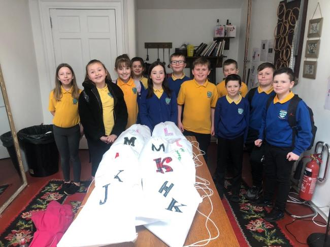 Crafty Dalmellington pupils get creative at Dumfries House