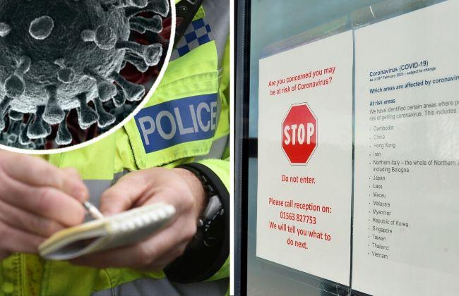 Police issue 18 coronavirus penalty notices in Ayrshire
