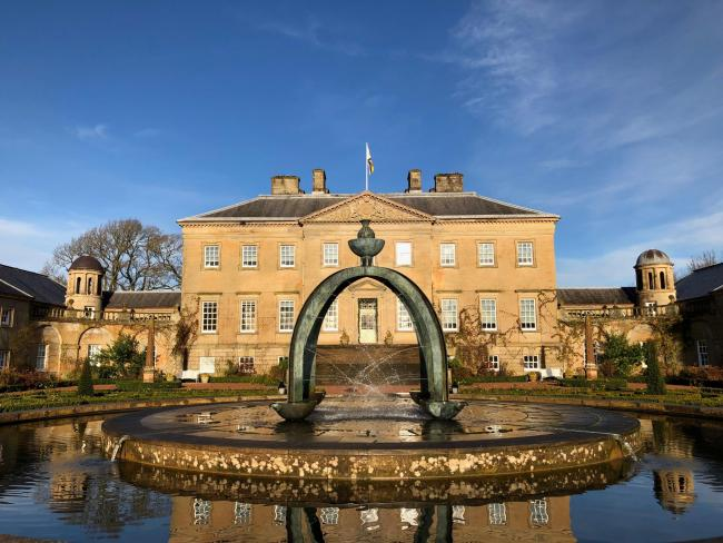 Dumfries House estate begins the reopening process.