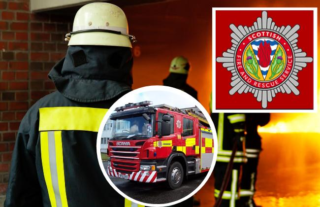 Police hunt after two fires started in Cumnock
