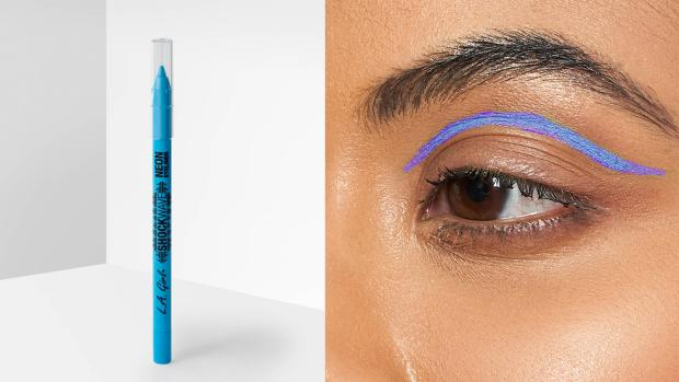 Cumnock Chronicle: Add some flair to your eye look with the L.A. Girl Shockwave Neon Liner. Credit: L.A. Girl