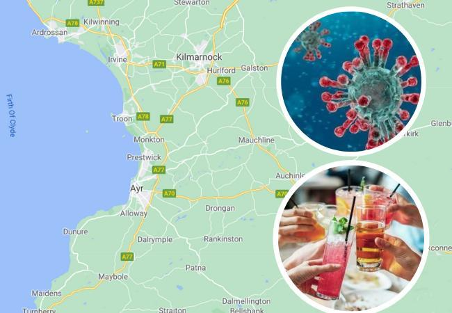 Ayrshire house parties coronavirus warning despite new guidelines