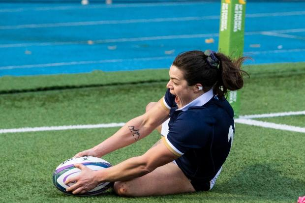 Rachel Shankland. SNS Group / Scottish Rugby