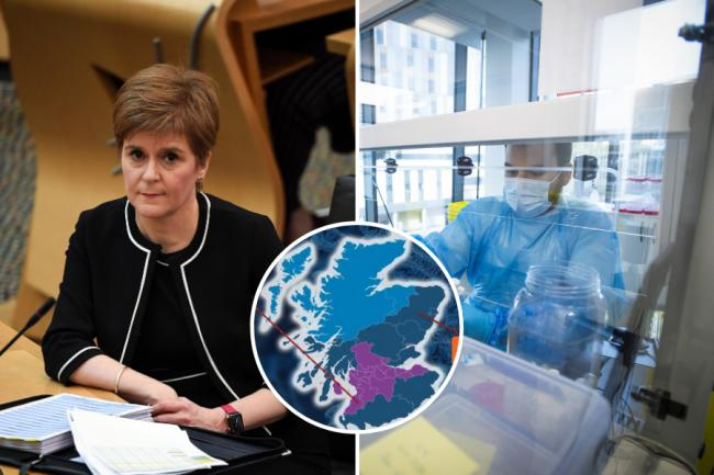 Nicola Sturgeon confirms Scotland's local lockdown tiers — here's your area's tier