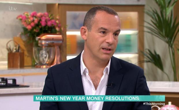 Cumnock Chronicle: Martin Lewis speaking on ITV's This Morning