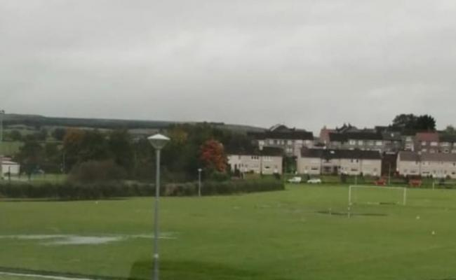 The pitches at Mill of Shield Road, Drongan.