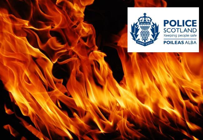 Business set alight deliberately in midnight attack