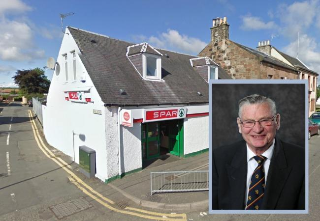 Cllr Spurling wants to save the Tarbolton Post Office.
