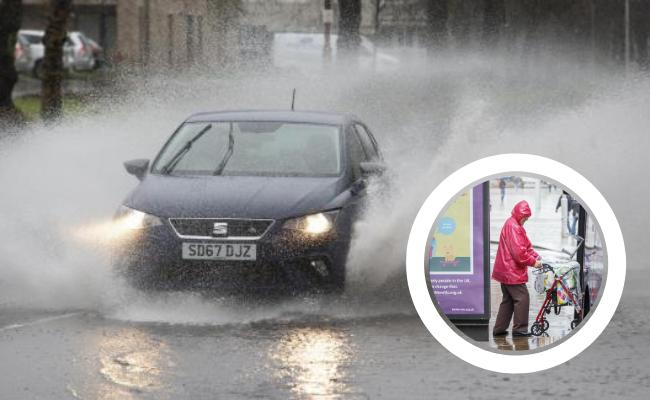 Yellow weather warning for rain and flood alert issued for Ayrshire