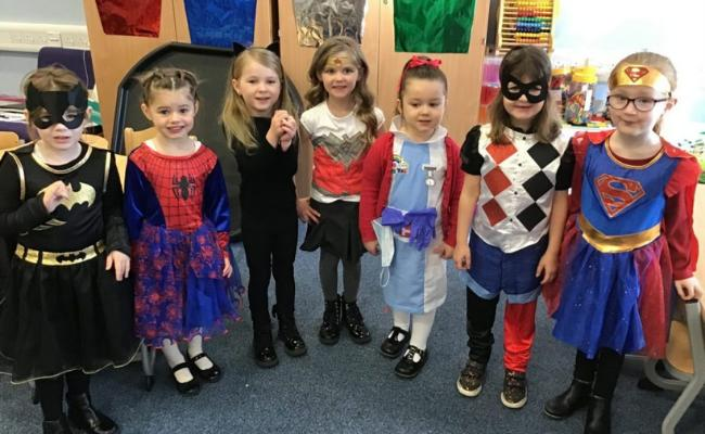 New Cumnock PS pupils raise 'super' amount for Comic Relief