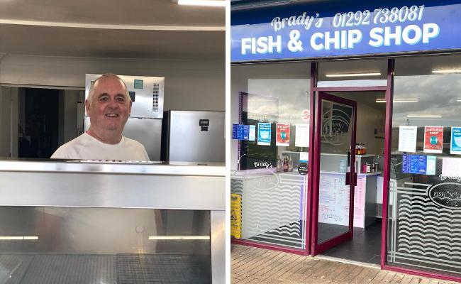 Drongan chippy shortlisted at Scottish Business Awards