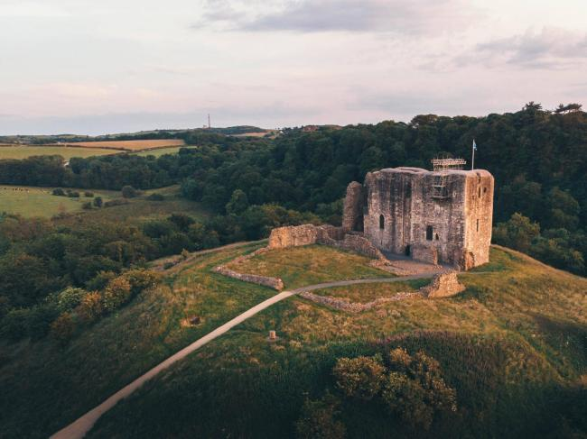 Dundonald Castle. Photo: Chris Russell