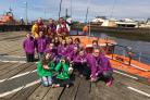 New Cumnock Scouts visit to RNLI