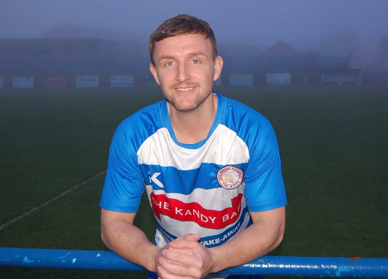 New Kilwinning Rangers signing James Latta