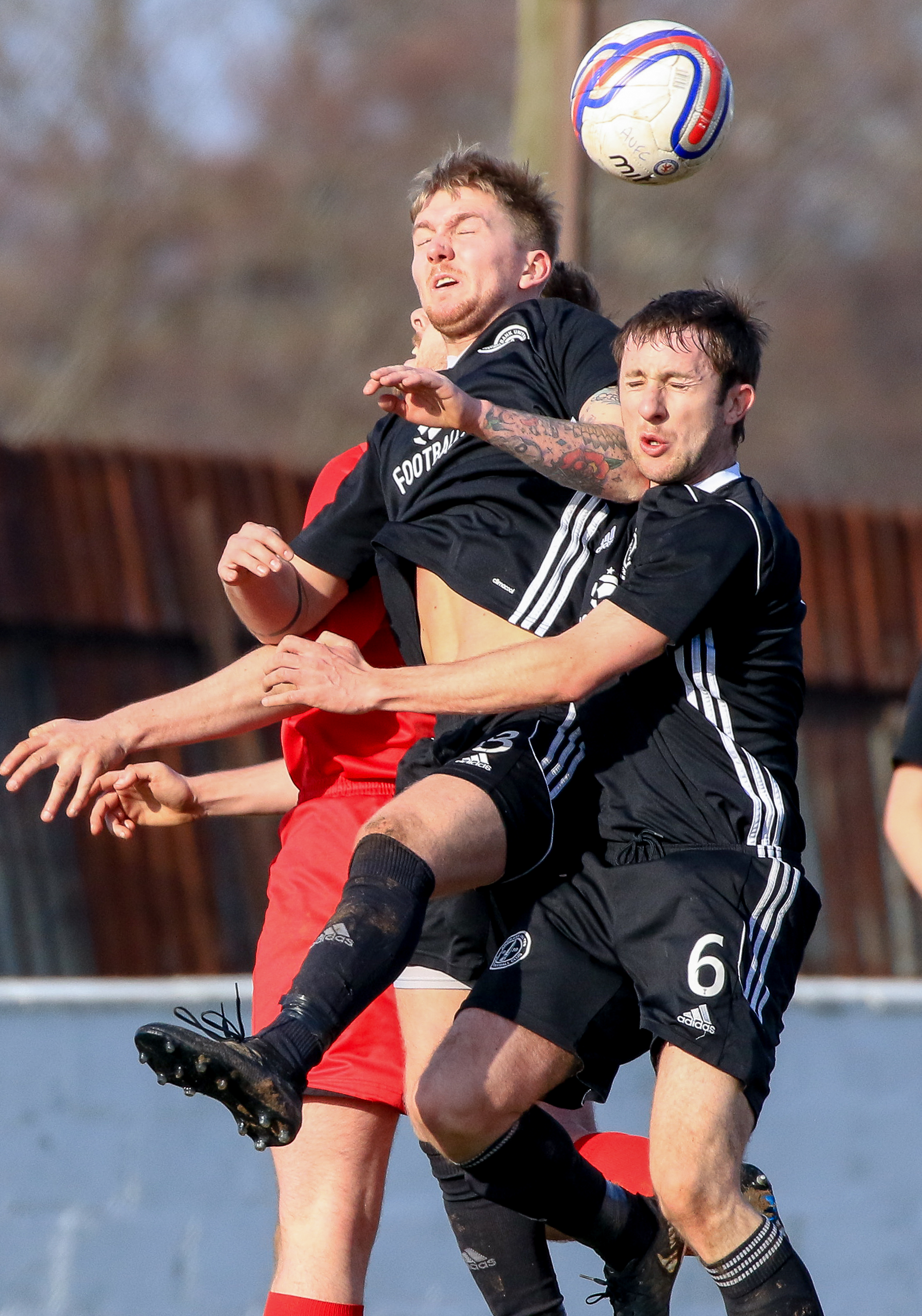 THREE NIL: Craigmark Burntonians beat Annbank United on Saturday