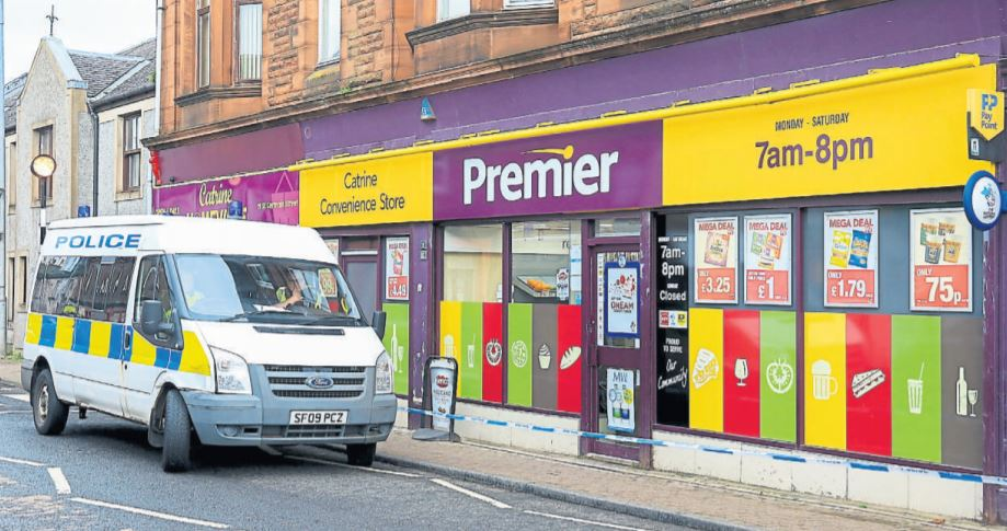 CATRINE SHOP: Senga Houston was working at the Premier Store when she was attacked in November 2017