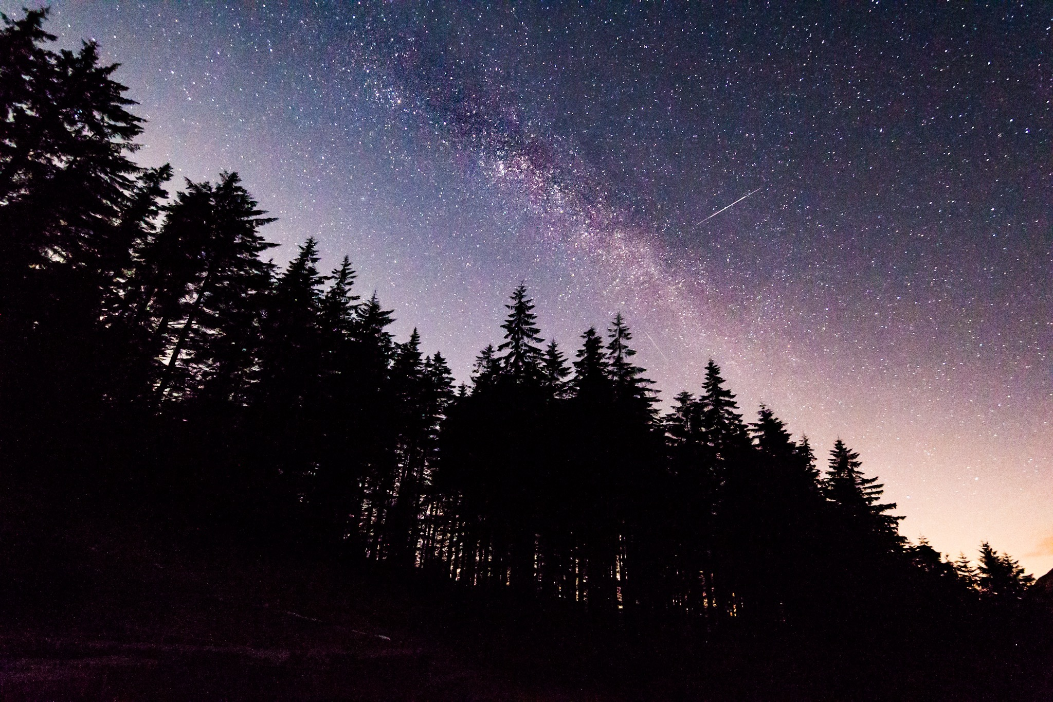 Courtney captures the Milky Way