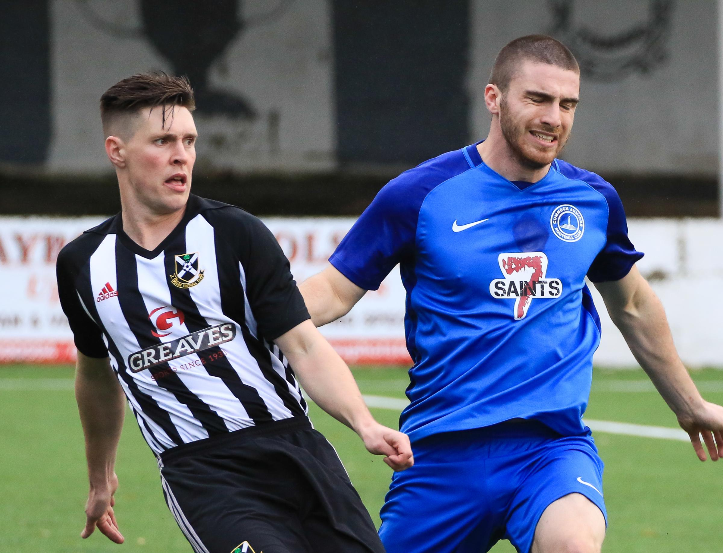 JUNIOR CUP: Cumnock lost to Pollok at Townhead Park