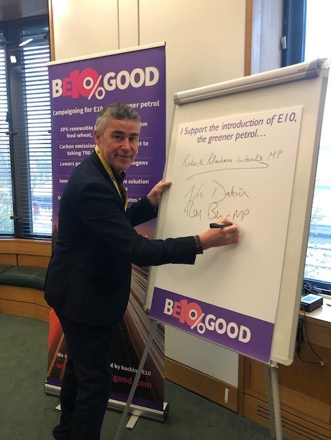 Alan Brown supports introduction of E10 fuel