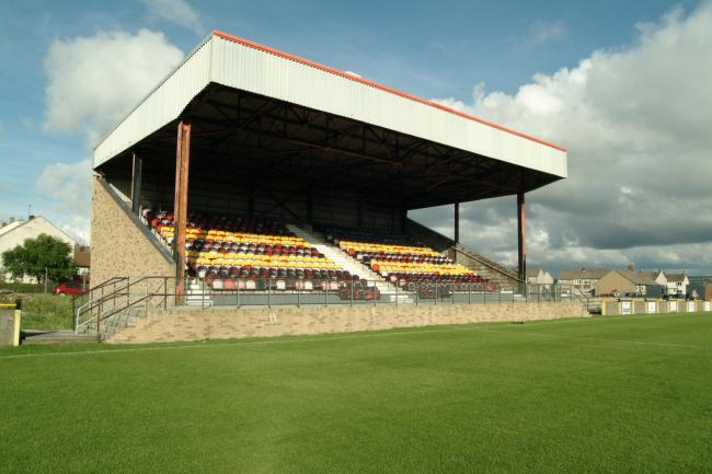 View of the completed Stand at Beechwood Park.