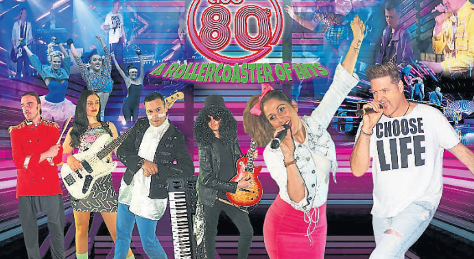 Cumnock is set to time travel with a massive 80's show at the town hall