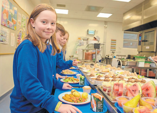 Local pupils enjoy award winning school meals for 10th year in row as East Ayrshire council scoop another award