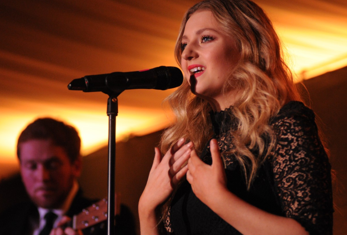 National star stuns local crowds after performing at a sold-out concert at Dumfries House