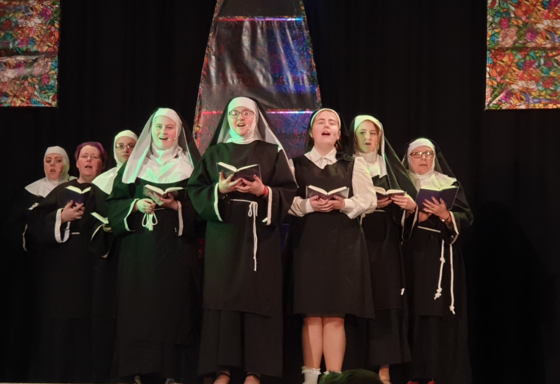 Final performance of Sister Act in Cumnock TONIGHT