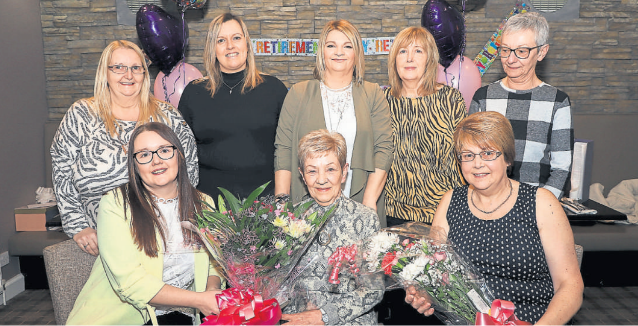 Well loved carer given emotional farewell by team after amazing 24 year career.