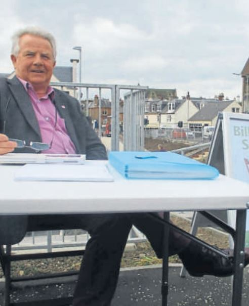 Find out what MP Bill Grant has been up to in Cumnock