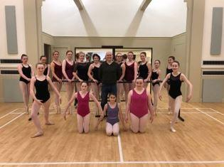 Cumnock dance academy gets major donation from Charles fort Developments